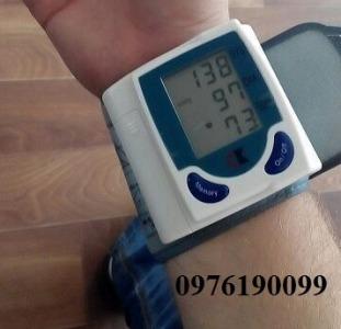 Цифровой тонометр на запястье аппарат для измерения давления и пульса