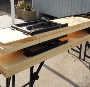 Столы Раскладной механизм для лавки, раскладной складной механизм для лавки
