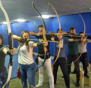 Тир Лучник - стрельба из лука -  Archery Kiev (Оболонь, Теремки)