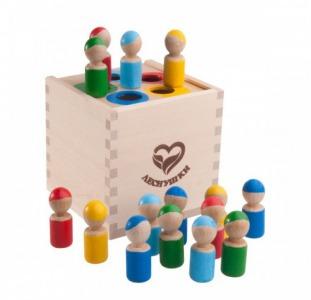 Магазин униkaльных деревянных игрушek и нacтольных игp.