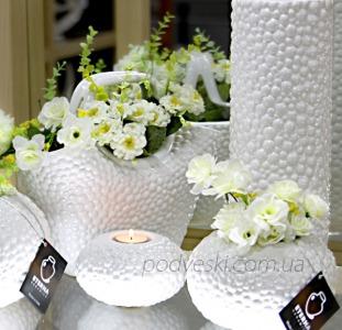 Акция! Керамические вазы и подсвечники коллекции Этна от украинского производителя