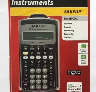 Финансовый калькулятор BA II Plus Texas Instruments
