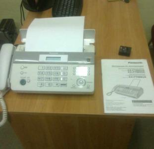 Продам в новом состоянии Телефон факс PANASONIC KX-FT982 White