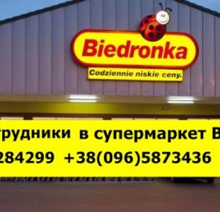 Требуется работник в супермаркет Biedronka, Польша