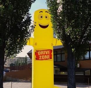 Исключительные методы маркетинга и наружной рекламы inflatable tubeguy with blower