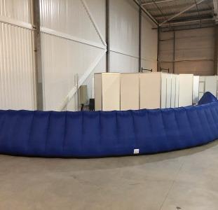 Надувной забор Inflatable fence пит-уолл