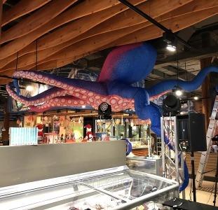 Услуги для бизнеса Надувной рекламный осьминог Inflatable octopus, Advertising Inflatable octopus
