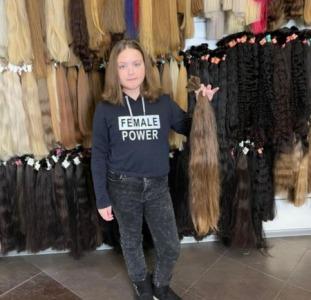 Продать волосы в Виннице дорого.