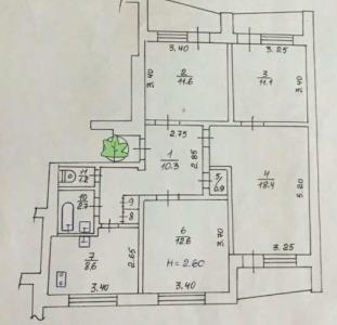 4к видовая квартира на АК. Павлова,130!