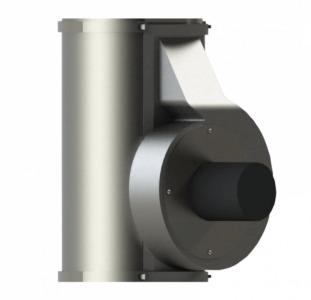 Дымосос Exhauster H-0220 для котлов и дымоходов (регулируемый) - БИОПРОМ