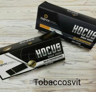 Инструменты Гильзы для сигарет Набор HOCUS +HOCUS Black