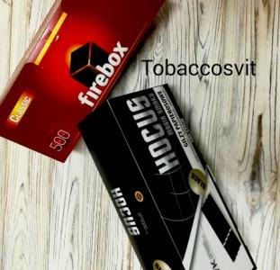 Гильзы для сигарет Набор HOCUS Black+ Firebox 500