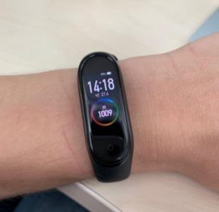 Браслет М4, фитнес трекер Xiaomi Mi Band 4 смарт часы