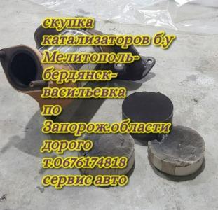 Скупаем б.у катализаторы в Запорожье.Работаем с новой почтой с наложным платежем, за доставку платим
