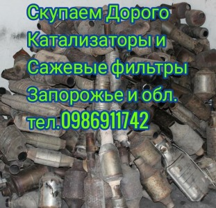 Катализаторы и сажевые фильтры Запорожье Купим Дорого