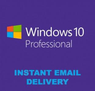 Лицензионный ключ Windows 10 PRO 32/64 bit Цифровая лицензия RETAIL KEY Multilanguage