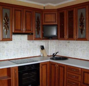 Стекло для кухонных фасадов и дверей