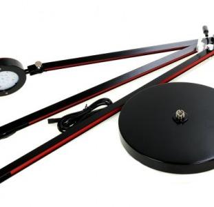 LED Торшер Livarno черный-красный