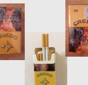 Credo Беларуское производство - оптовая продажа сигарет
