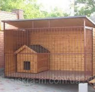 Изготовление вольеров и будок для собак, Днепр