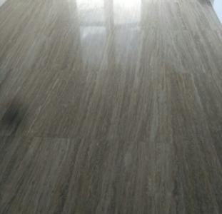 Восстановление блеска на мраморных полах