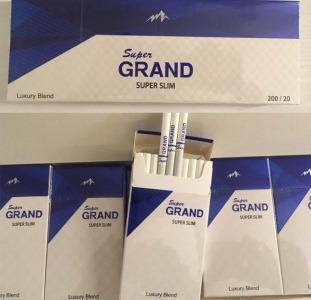 Сигареты Grand blue super slims оптом