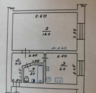 1-комнатная квартира, 10 минут от Гагарина!