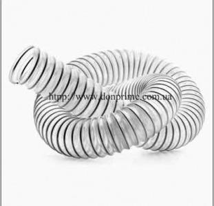 Шланг вентиляционный гофрированный гибкий из ПВХ