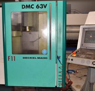 Вертикально-фрезерный станок с чпу DECKEL MAHO 63V