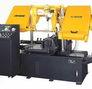 Автоматический ленточнопильный станок колонного типа everising h-260hb