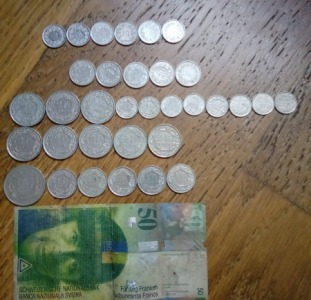 Обмен до-евровых валют: дойчмарки, бельгийские франки, нидерландские гульдены.