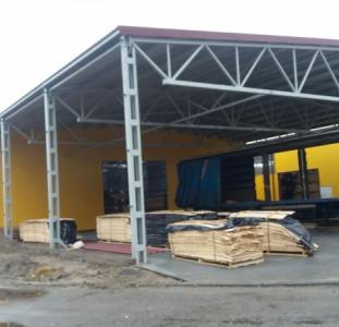 Промышленное здание из металлоконструкций Коломыя