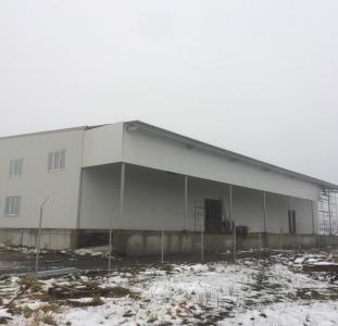 Зернохранилище из металлоконструкций в Черновцах.