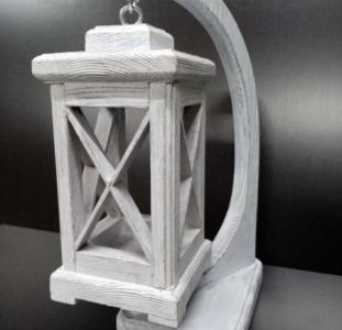 Продается фонарь декоративный из дерева