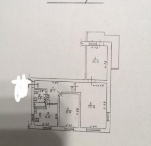Продам 3-х комнатную квартиру на пр. Глушко