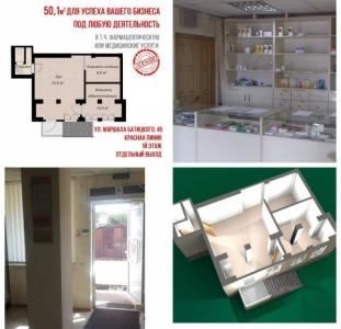 Коммерческое помещение 51 кв. м. Московский проспект