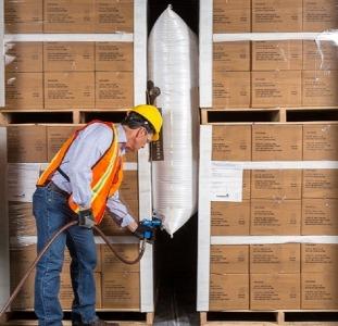 Пневмооболочки Viskom для крепления грузов, воздушные крепежные мешки, крепление груза