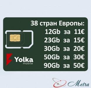 SIM 5g 3g 4g для інтернету Європа вигідно Україна