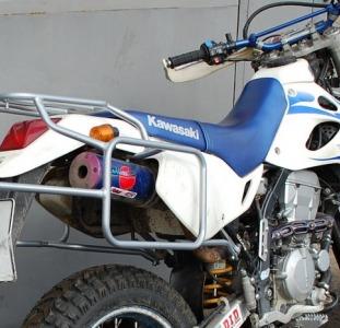 Цельносварные багажные системы и Дуги безопасности из металла для мотоцикла.