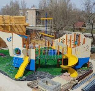 Детские площадки,Беседки,навесы