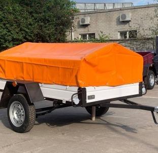 Прицепы и автодома Продается прицеп для авто Лев 2000х1300 мм от производителя