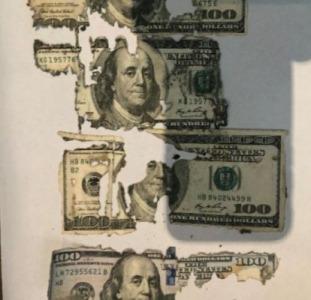 Обмен ветхих долларов, евро
