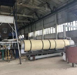 Продам производственную линию для сушки песка