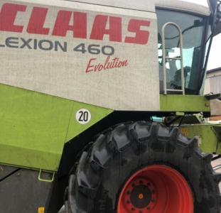 Сельхоз. техника Комбайн зерноуборочный Claas Lexion 460 Evolution 2003г.в.