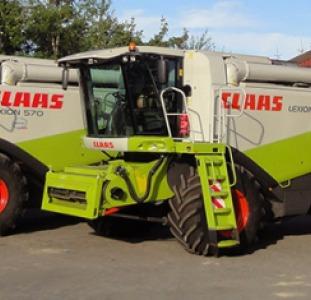 Сельхоз. техника Комбайн Claas Lexion 560 Год выпуска 2008.