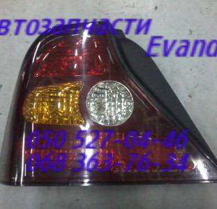 Шевроле Эванда фонарь задний левый правый. Chevrolet Evanda
