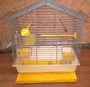 Клетка для попугая (б/у)