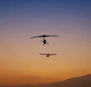 Трихограма продаж та внесення авіацією: БПЛА дельтаплани літаки