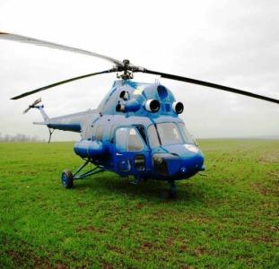 Авиация для внесения удобрений на рапс и пшеницу