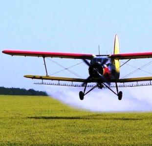 Обработка полей самолетами малой авиации